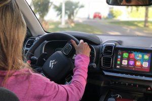 Al volante, también respetá la distancia